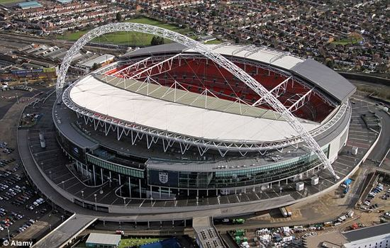 Wembley Stadium Largest Football Stadiums
