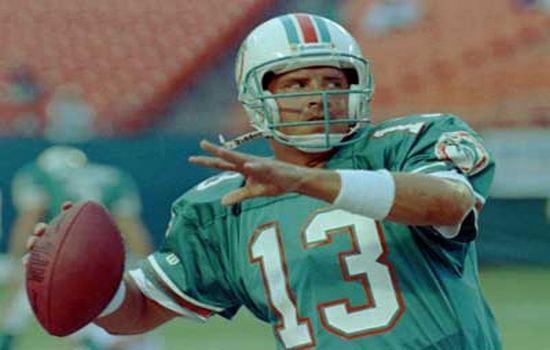 Dan Marino Best Quarterbacks in NFL