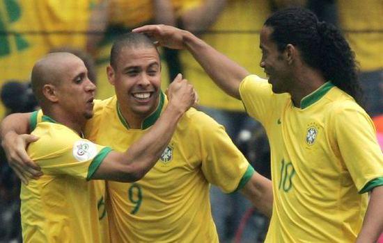 Rivaldo, Ronaldo and Ronaldinho Deadliest Football Trios