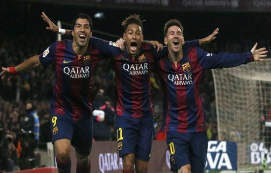 Messi, Suraiz, Neymar Deadliest Football Trios