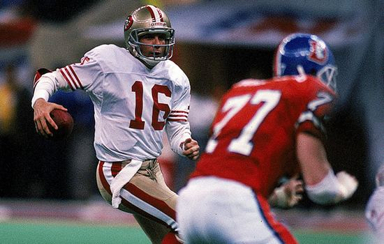 Joe Montana in Super Bowl XXIV