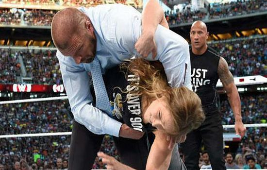 Ronda Rousey Won WWE Slammy Award for WrestleMania 31 appearance