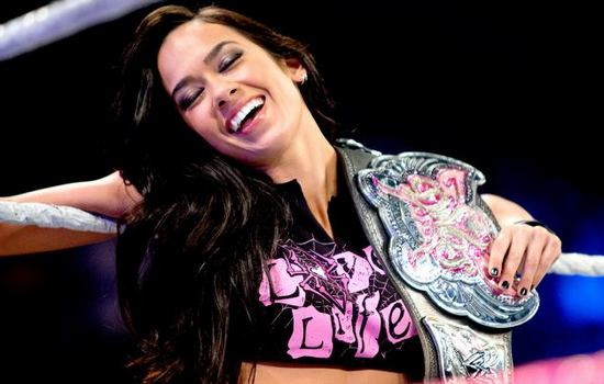 AJ Lee Longest Reigning Divas Champions in WWE