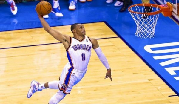 Russell Westbrook,Top Ten Fastest NBA Players 2016