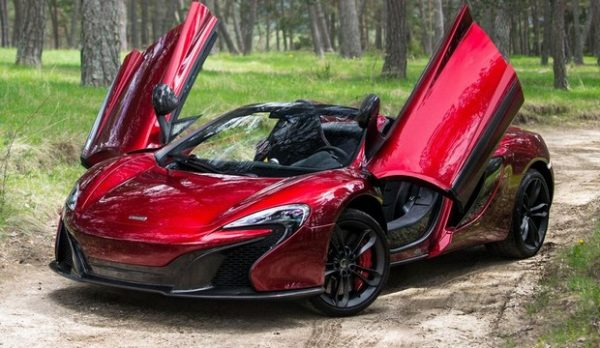 McLaren 650S,The Most Exotic Sports Cars 2016
