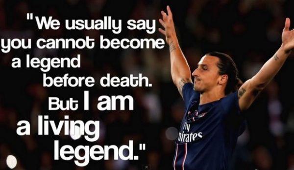 Outrageous Zlatan Ibrahimović Quotes