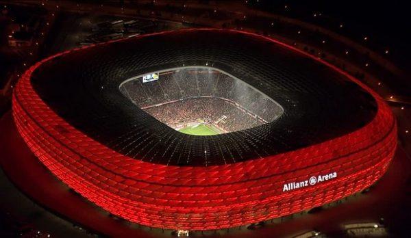 Allianz Arena Munich,Biggest Football Stadiums in Europe