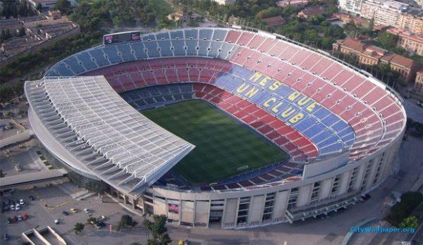 Camp Nou Barcelona,Biggest Football Stadiums in Europe