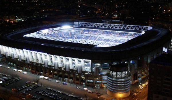 Estadio Santiago Bernabéu Madrid,Biggest Football Stadiums in Europe