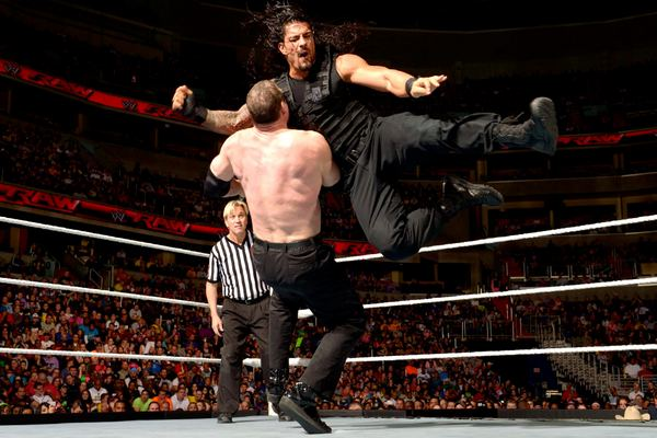 Flying Clothesline Top 10 Moves of Roman Reigns