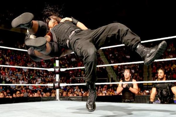 The Samoan Drop Top 10 Moves of Roman Reigns
