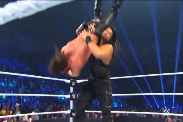 Tilt-a-whirl Slam Top 10 Moves of Roman Reigns
