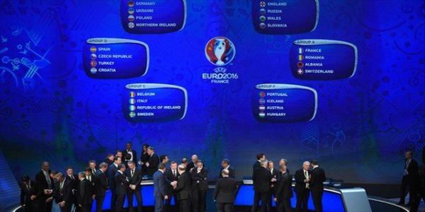 UEFA Euro Cup 2016 Fixtures