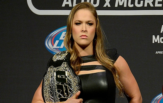 best ufc fighters Ronda Rousey