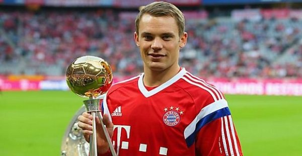 Manuel Neuer,Top Eleven Most Expensive Footballers at Each Position