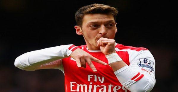 Mesut Ozil,Top Ten Footballer Brands 2016