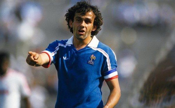 Michel Platini UEFA European Championship top 10 goal scorers