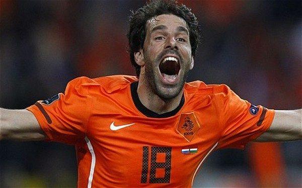 Ruud van Nistelrooy UEFA European Championship top 10 goal scorers
