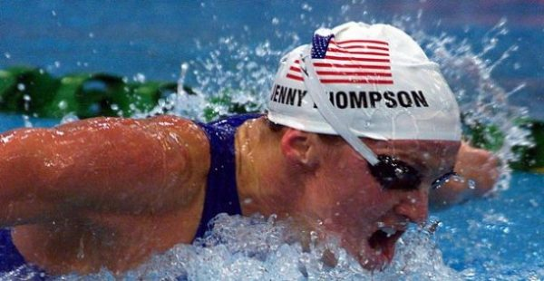 Jenny Thompson,Top Olympics Gold Medal Winner