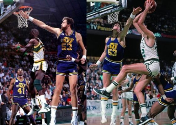 Mark Eaton Tallest Players in NBA