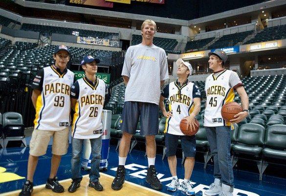 Tallest Players in NBA Rik Smits