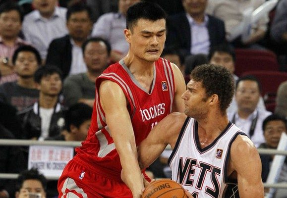 Yao Ming Tallest Players in NBA