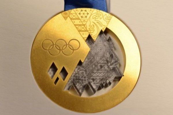 Sochi Olympic Gold Medal