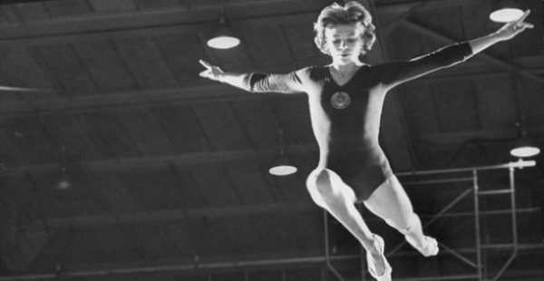 Larissa Latynina,Top Ten Greatest Female Athletes of all Time.