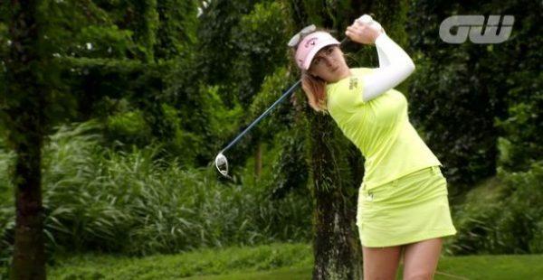 Sandra Gal,Stunning Women Golfers of 2016