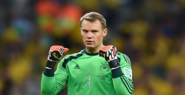 Manuel Neuer,Top Ten Best Soccer Players in the World Right Now