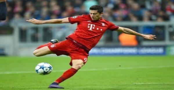 Robert Lewandowski,Top Ten Best Soccer Players in the World Right Now
