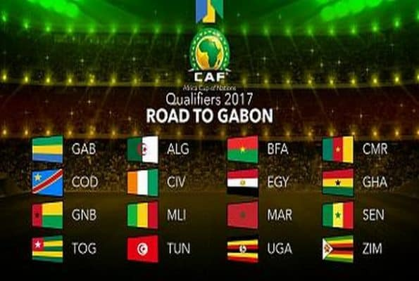 Gabon 2017 AFCON Group Stage Draw