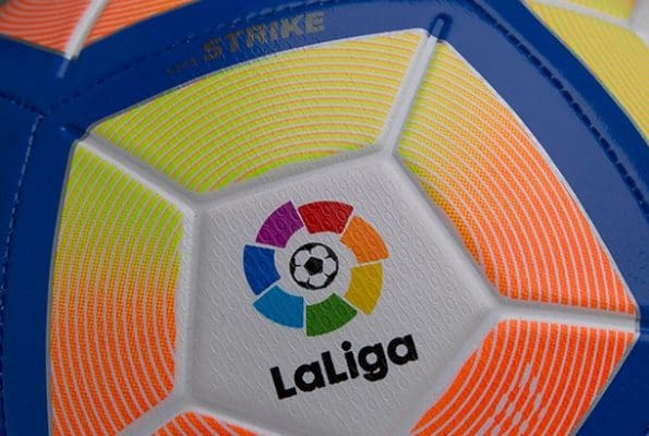 2016-17 Spanish Soccer League La Liga Standings