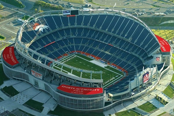 Top 10 Largest NFL Stadiums with Maximum Crowd Capacity
