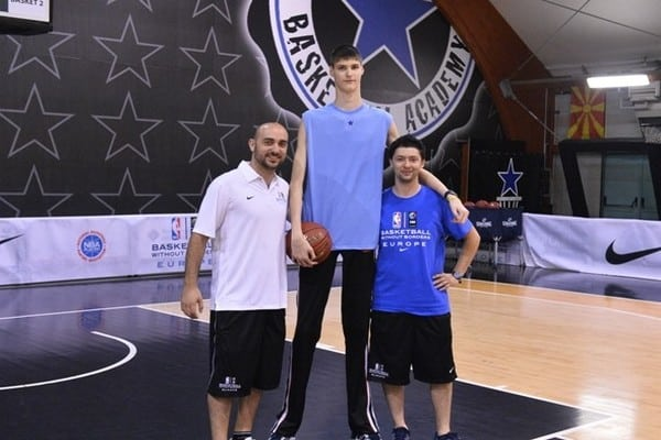 Who is the NBA Tallest Player? All-time and Right Now
