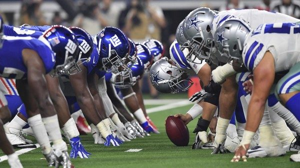 Three Best Bets for Giants vs. Cowboys